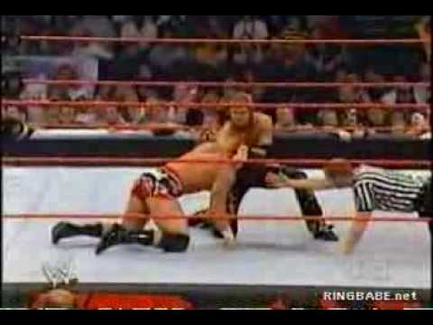 Johnny Nitro with melina vs Charlie Haas Video