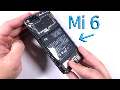 Mi 6 Teardown - Splash Proof Analysis - Clear Back Mod!