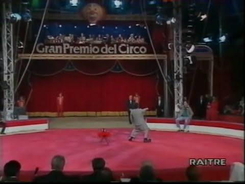David Larible al II° Gran Premio del Circo di Genova nel 1994 (1)