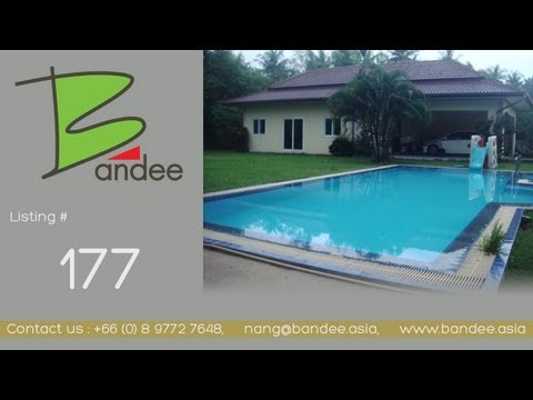 Pattaya House for rent or sale in Mapprachan lake