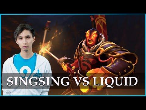 C9.Singsing Ember Spirit vs Liquid @ TI4