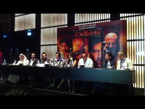 Agneepath 2012 press conference in Dubai