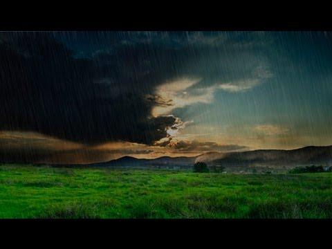 Как сделать дождь в фотошопе видео