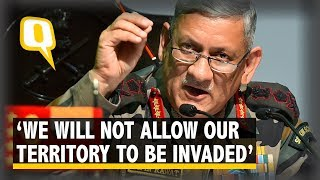China Is Powerful But India Is Not a Weak Nation: Bipin Rawat | The Quint