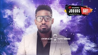 Prince Kaybee at #HuaweiJoburgDay