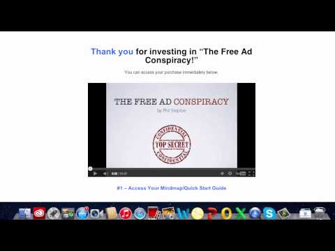 Free Ad Conspiracy Review   How to Advertise for FREE on Paid Ad Platforms!