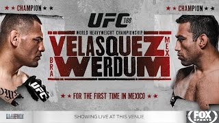 UFC 188: Velasquez vs. Werdum preview