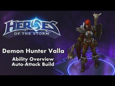 Build Valla Auto Attack
