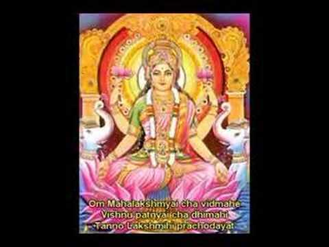 Lakshmi (laxmi) Gayatri For Spiritual Wealth And Luxuries video