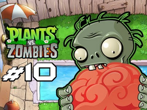 Plants Vs. Zombies - Gameplay Walkthrough Part 10 - Blover You Away (World 4) (HD Let s Play)