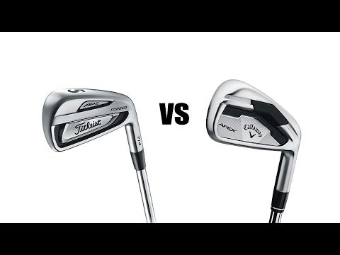 Titleist 714 AP2 Vs Callaway Apex Irons Comparison and Review