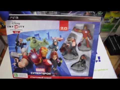 Disney Infinity 2.0 Marvel Супергерои. Стартовый набор