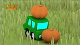 Cartoon Cars - JUMPING PUMPKINS! Videos for kids - Cartoons for Children - Kids Cars Cartoons