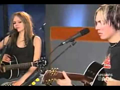 Avril Lavigne - Take Me Away (live Acoustic Aol Session 2004) video