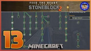 StoneBlock 2 Modpack Ep 13 - Completing all the Storage Quests  - Modded Minecraft