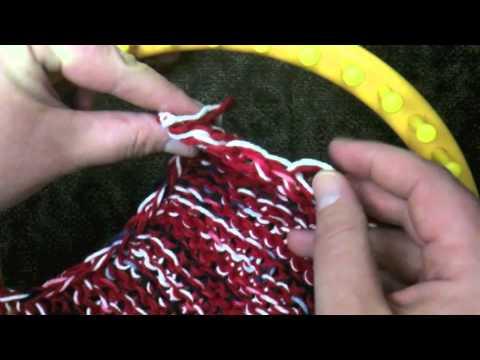 Part 1 of 4 Loom Knit Mesh Bag