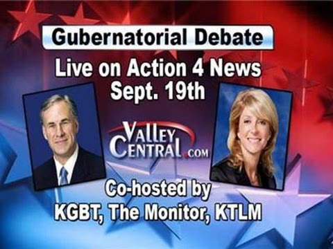 Texas Governor's Debate