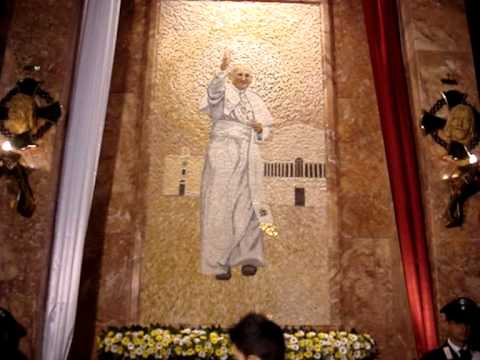 Part 3 of 4 - Pope John Paul II Relic.