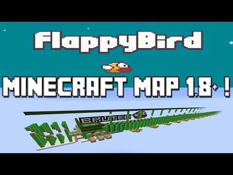 Minecraft : Map Flappy Bird (IOS Game /Android) AppStore + Google Play