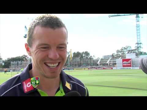 Peter Siddle Day 3 Adelaide morning chat