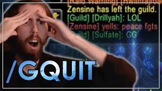 Asmongold's Guildmate QUITS After He Gets The Gul'dan Mount (Best of Asmongold Ep. 52)