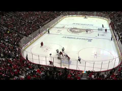 Colin Greening backhand goal 2nd OT 2-1. May 19 2013 Pittsburgh Penguins vs Ottawa Senators NHL
