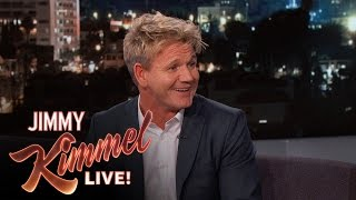 Gordon Ramsay Hid During His Daughter's Driving Lessons