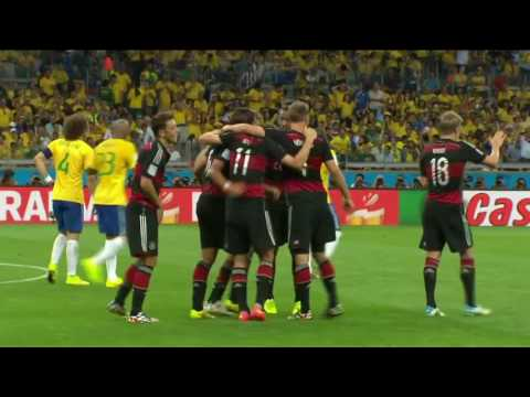 Brazil x Alemanha  FIFA world cup 2014- HD