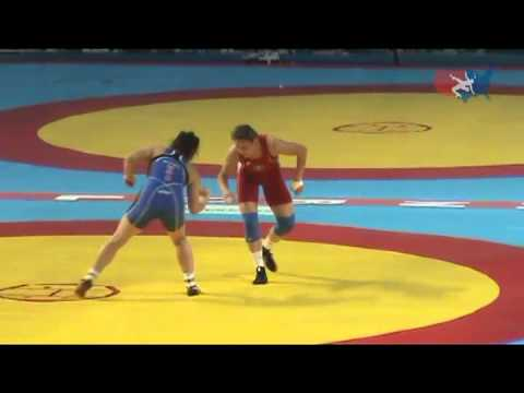 2011 Worlds Women 72kg Bronze - 2X Olympian Ali Bernard (USA) vs. Olympic Silver medallist Guzel Manyurova (KAZ)