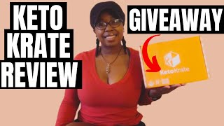 June 2020 Keto Krate Unboxing, Review, Taste Test + Giveawayyy I Lazy Keto
