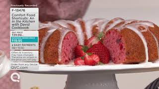 """Comfort Food Shortcuts: An """"In the Kitchen with David"""" Cookbook on QVC"""