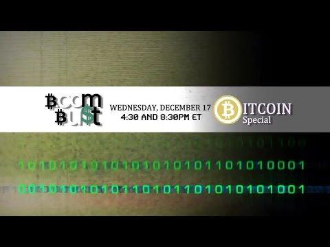 Boom Bust tackles Bitcoin