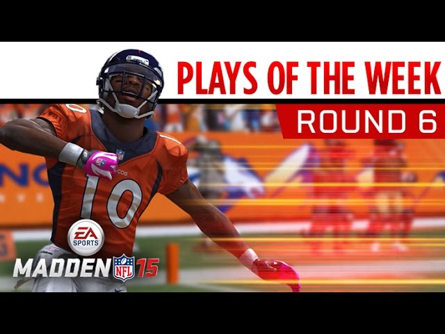 Madden NFL 15 - Plays of the Week - Round 6