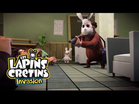 Les Lapins Crétins Invasion - Braquage crétin (EP. 4)