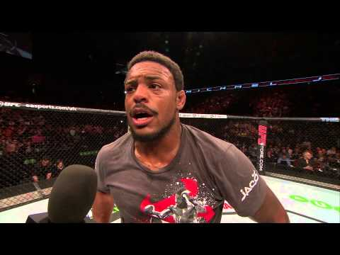 Fight Night London Michael Johnson Octagon Interview