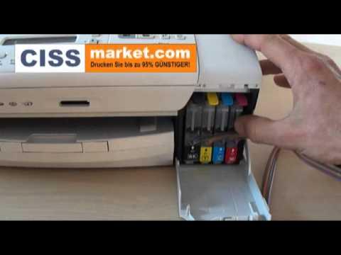 CISS Installationsanleitung für Brother DCP-195 C - CISSmarket.com