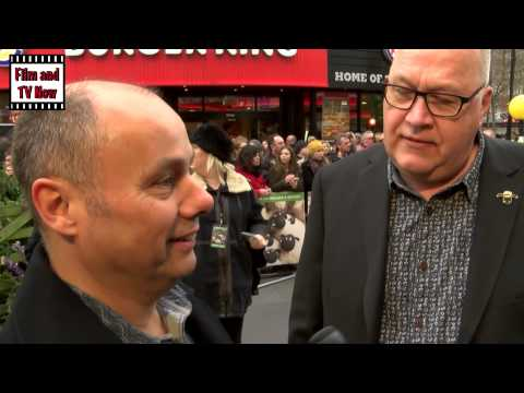 Mark Burton and Richard Starzack Red Carpet Interview at Shaun the Sheep Premiere