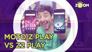 Moto Z Play vs Moto Z2 Play - COMPARATIVO | DANDO UM ZOOM #60