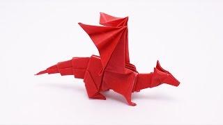 折り方もレクチャー♪折り紙で作ったドラゴンが秀逸!