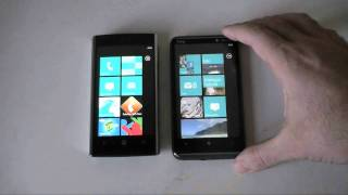 HTC HD7 vs. Dell Venue Pro