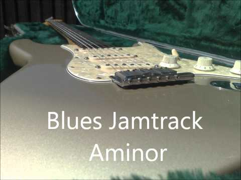 Smooth Blues Jam Track (in A)
