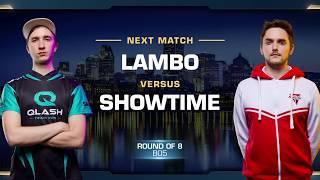 Lambo vs ShoWTimE ZvP - Quarterfinals - WCS Montreal 2018 - StarCraft II