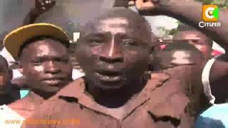 Wenyeji Kisumu Waandamana Kufuatia Mauaji