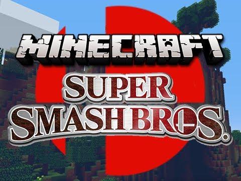 Super Craft Bros. Brawl (Minecraft Server Minigame)