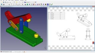 FreeCAD 0.16 (5805) TH27A - Aseembly2