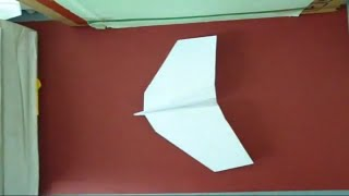How To Make Origami Air Hopper  (paper Airplane)