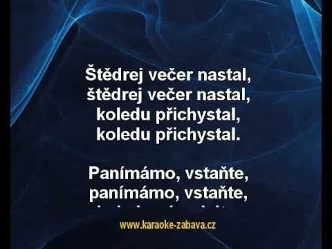 Karaoke Klip Štědrej Večer Nastal - Koleda