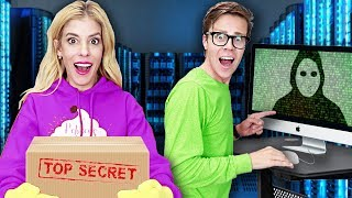 REBECCA ZAMOLO GAME MASTER Hacks CONTROL ROOM & TOP SECRET Box! (24 hour Escape Room Clues)