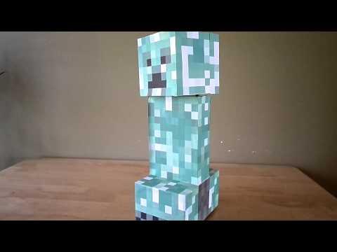 Minecraft creeper robot