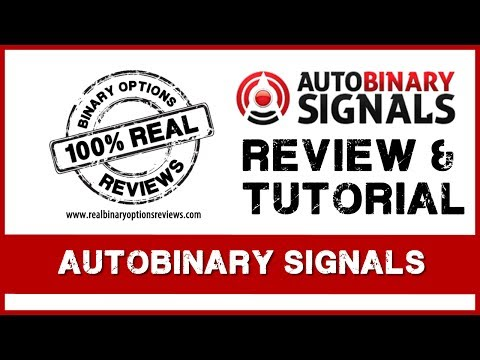 Auto Binary Signals EA - Review and Gudelines on How to use the Signals.